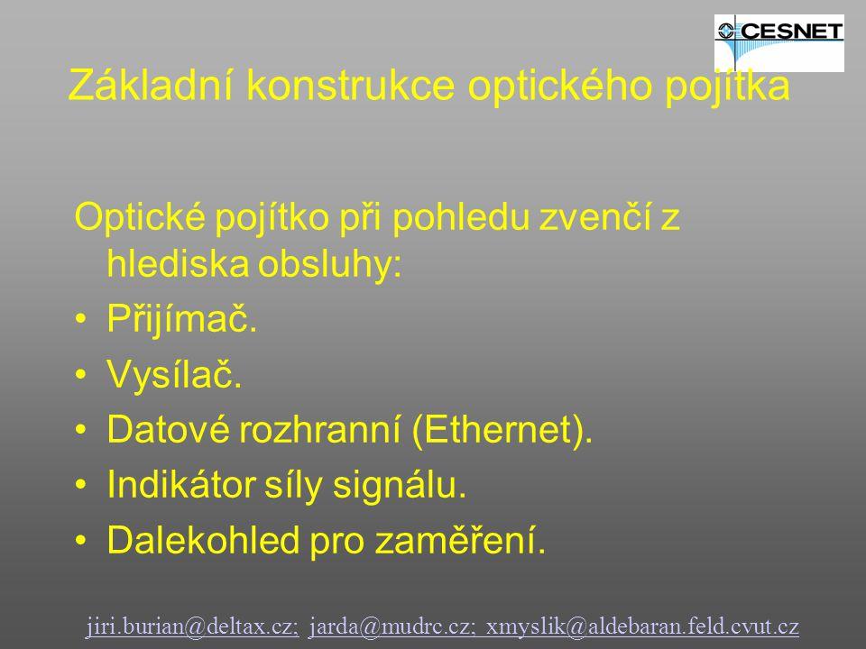 jiri.burian@deltax.cz;jiri.burian@deltax.cz; jarda@mudrc.cz; xmyslik@aldebaran.feld.cvut.czjarda@mudrc.cz; xmyslik@aldebaran.feld.cvut.cz Pohled zepředuPohled zezadu Vnější konstrukce optického pojítka