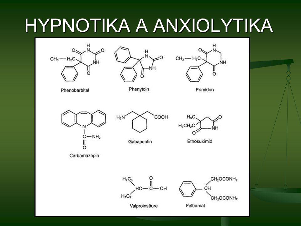 HYPNOTIKA A ANXIOLYTIKA
