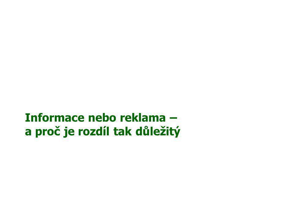Tiskové zprávy Rozpor .Nikoliv .