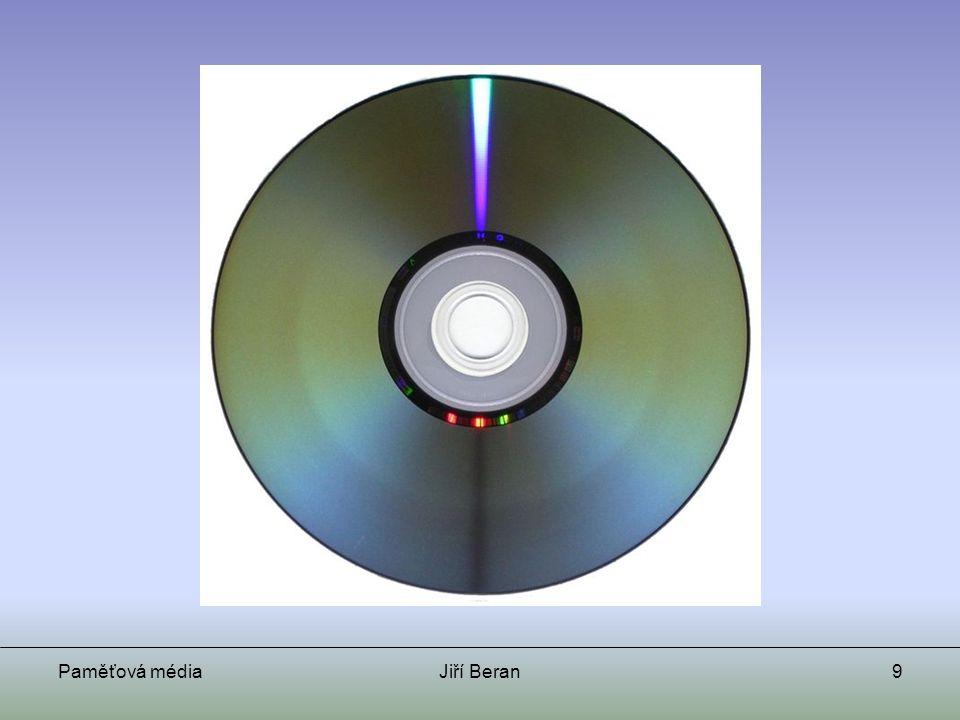 Paměťová médiaJiří Beran10 DVD Kapacita 4,7 GB (příp.