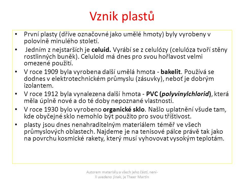 Polystyren - jeden z nejrozšířenějších plastů.hodí se k výrobě hraček, bižuterie, obalů.