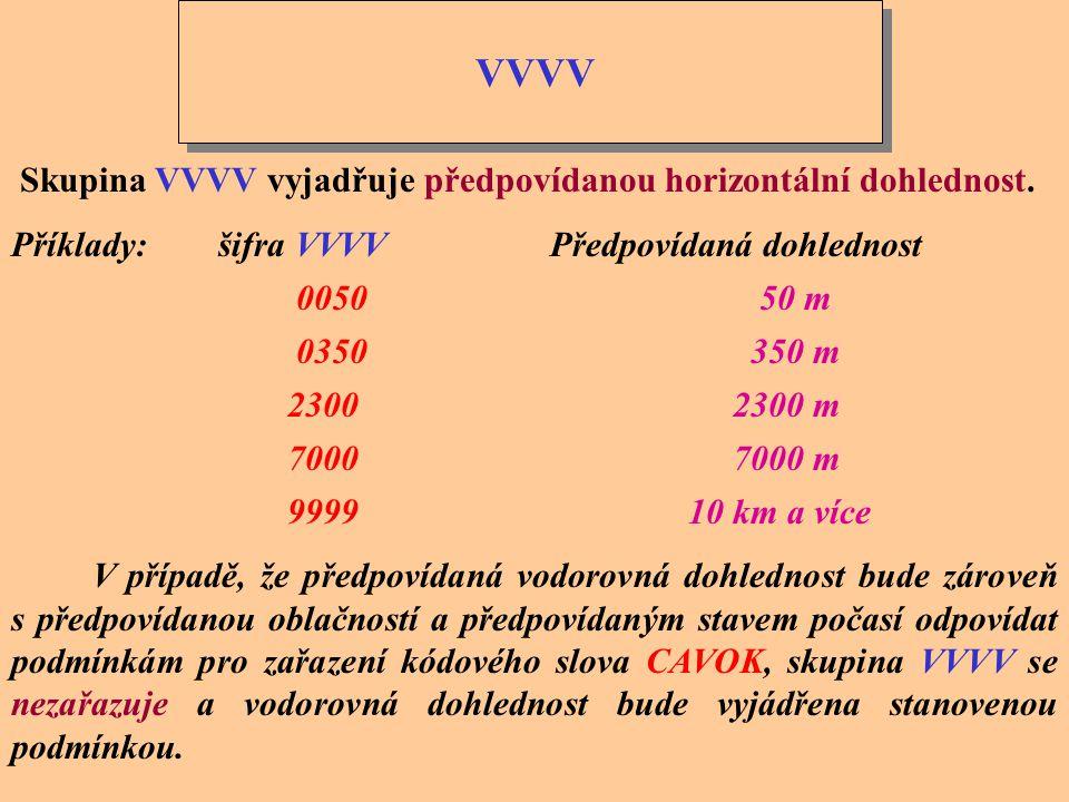 KMH nebo dddffGf m f m KT nebo MPS KMH nebo dddffGf m f m KT nebo MPS Skupinou dddff se udává průměrný směr a rychlost předpovídaného větru, za kterou