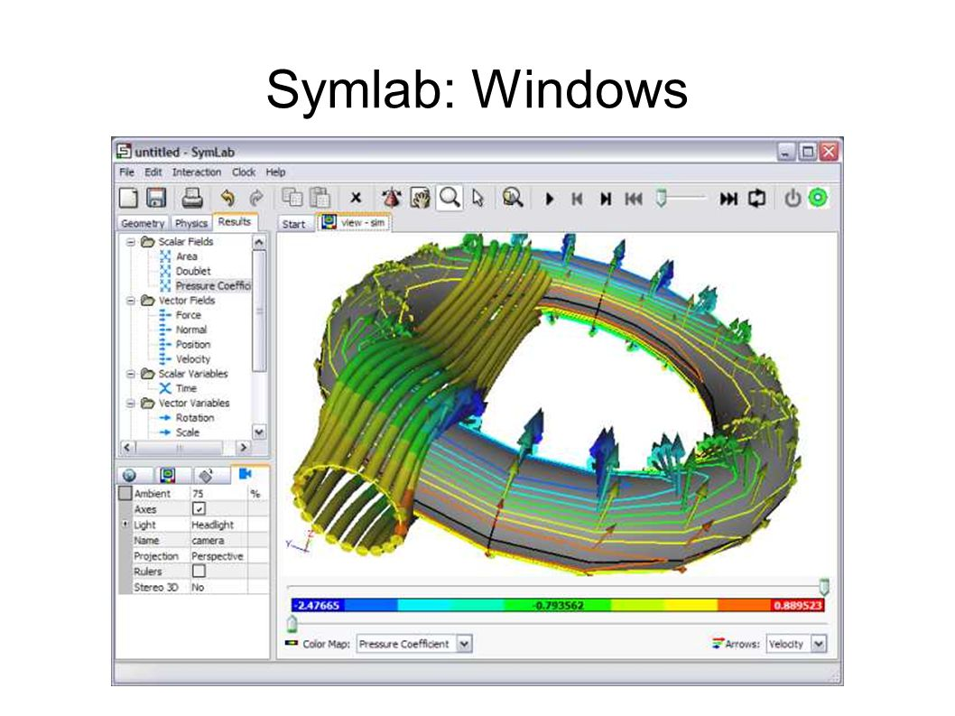 Symlab: Windows
