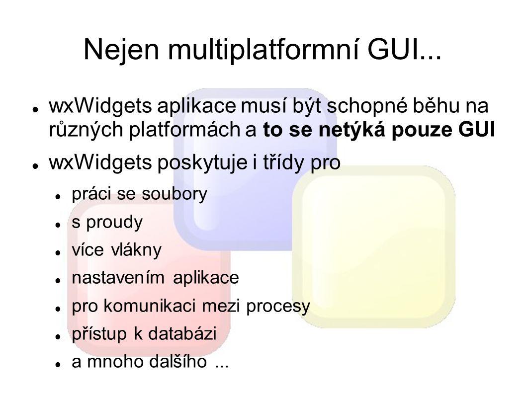 Nejen multiplatformní GUI...