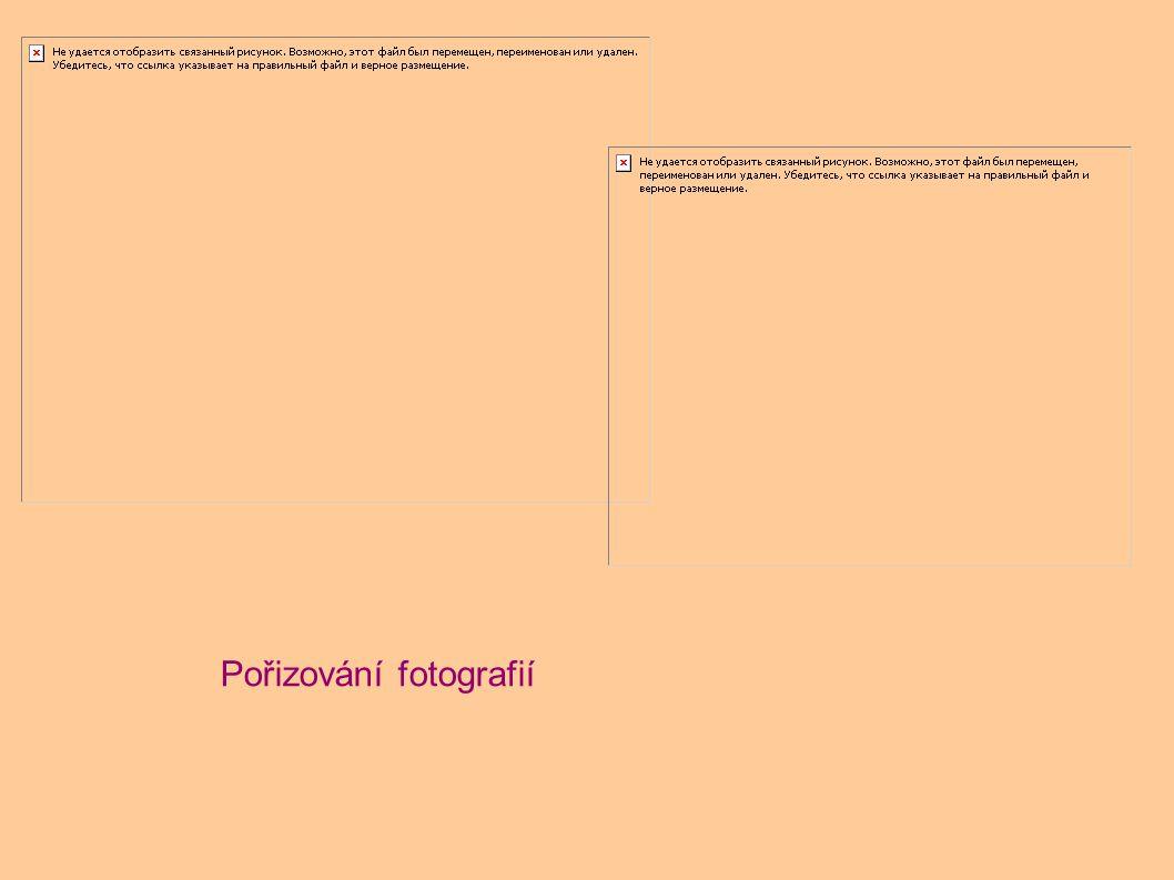 Práce na počítači – obrázky, popisky,text v aj