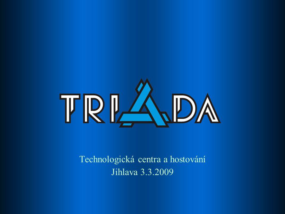 Technologická centra a hostování Jihlava 3.3.2009