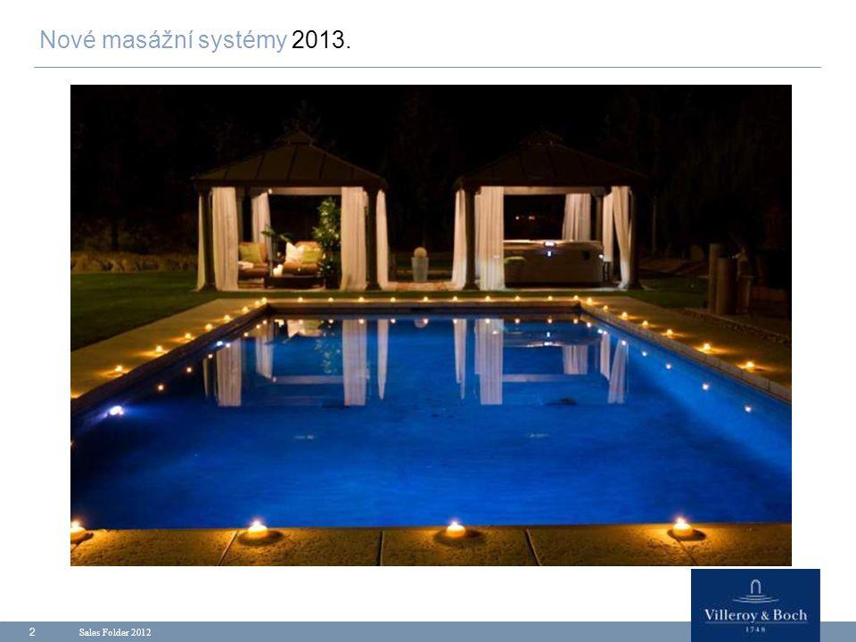 Sales Folder 2012 33 Premium - line 7 modelů Products.