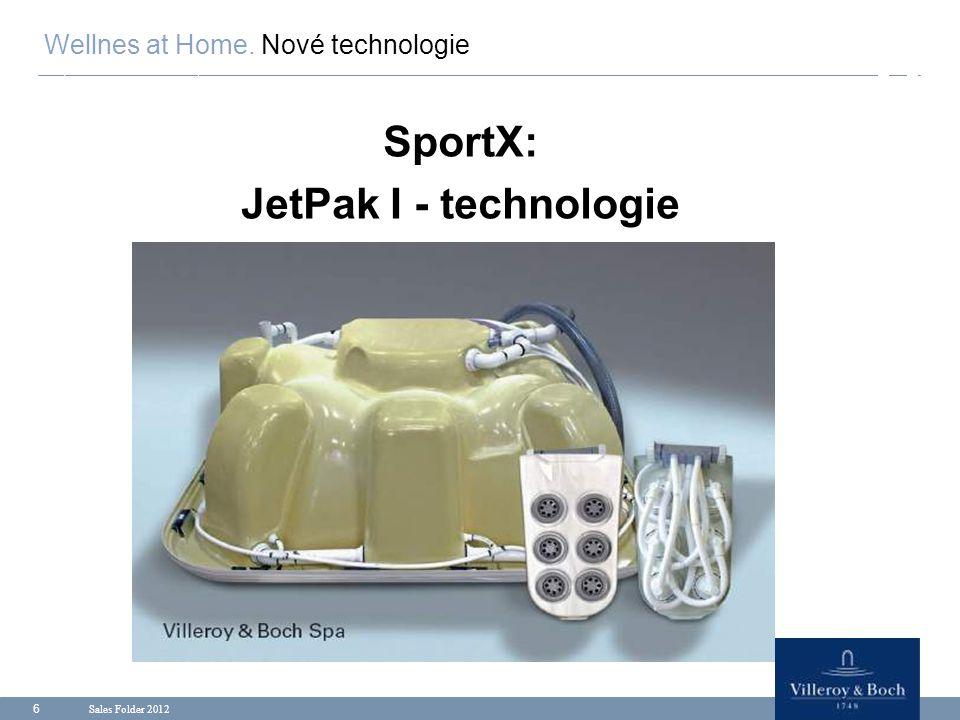 Sales Folder 2012 7 Řady Premium- a Comfort- : JetPak II - technologie Wellnes at Home.