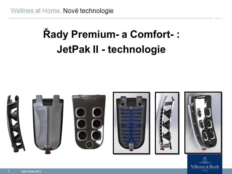 Sales Folder 2012 8 Zadní jednotka JetPacku: Aqua & Air (Voda a Vzduch) Wellnes at Home.