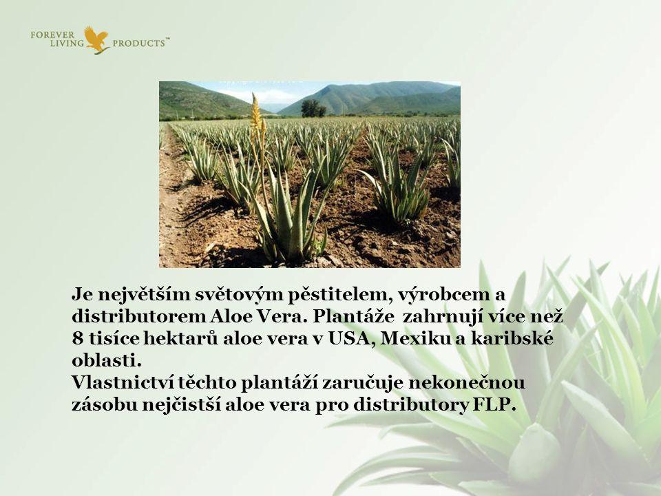 Je největším světovým pěstitelem, výrobcem a distributorem Aloe Vera. Plantáže zahrnují více než 8 tisíce hektarů aloe vera v USA, Mexiku a karibské o