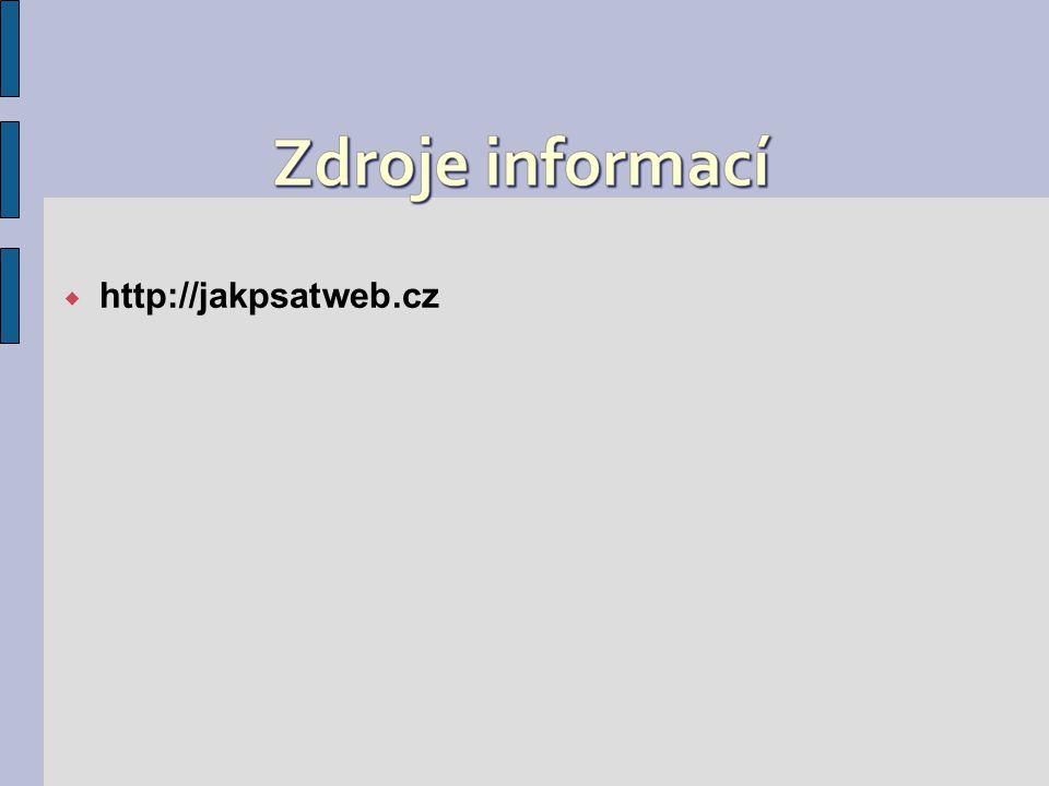  http://jakpsatweb.cz