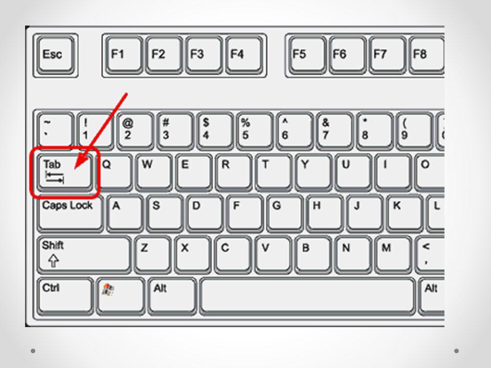 K čemu je tedy klávesa TAB.