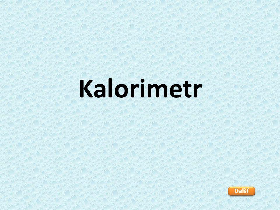 Kalorimetr Další