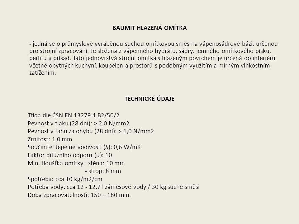 ZPŮSOB DODÁVKY: pytel = 30kg 40 pytlů (paleta) = 1200 kg ZPŮSOB SKLADOVÁNÍ: V suchu na dřevěném roštu, v uzavřeném balení, skladovatelnost max.