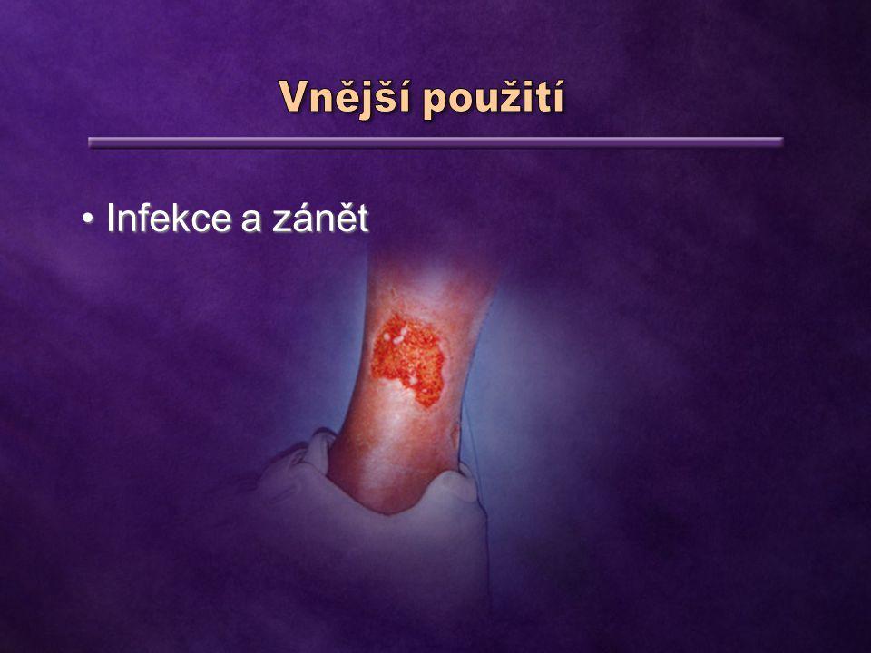 Infekce a zánět Infekce a zánět