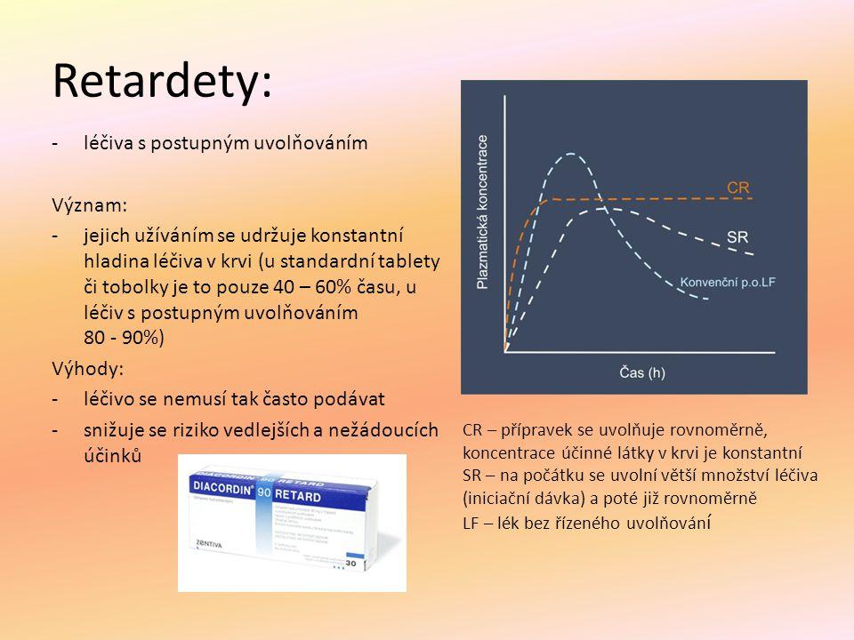 Rozdělení analgetik: analgetika A) anodyna = opioidní př.
