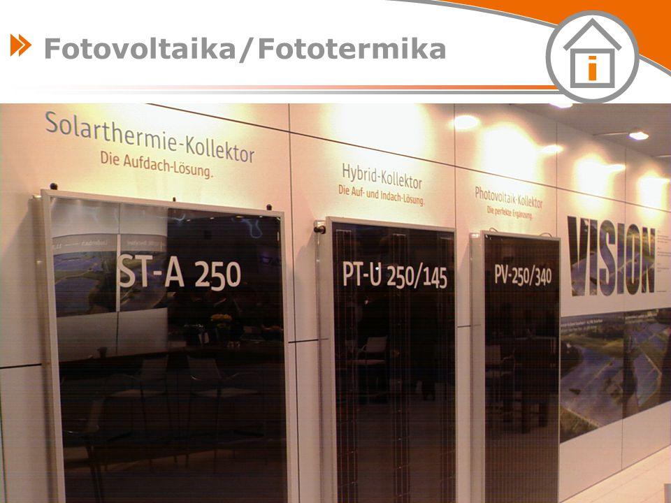 www.tzb-info.cz – stavebnictví – úspory energií – technická zařízení budov 33 Fotovoltaika/Fototermika