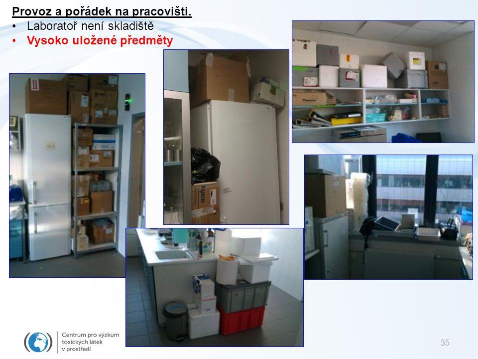 36 Likvidace odpadů Centra RECETOX Směsný komunální odpad – O – nekontaminovaný odpadkové koše v laboratořích a pracovnách.
