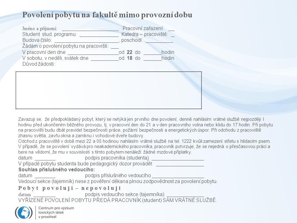 Nařízení vlády, kterým se stanoví podmínky ochrany zdraví při práci NV č. 361/2007