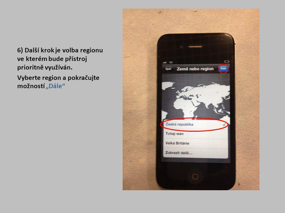 """27) Zde jen proběhne informace o dokončeném nastavení, kde zvolíte pouze """"Začít používat iPhone"""