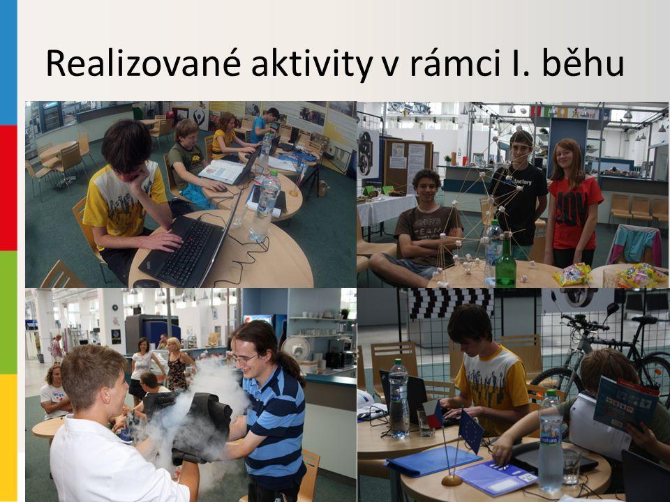 Realizované aktivity v rámci I. běhu
