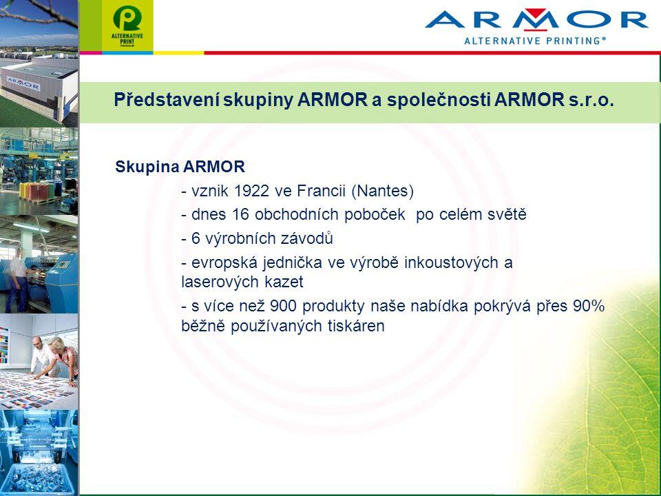 Představení skupiny ARMOR a společnosti ARMOR s.r.o.