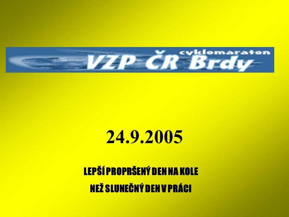 STATISTIKA BRDY 2005 Pouze orientační čas dámské jízdy 2004