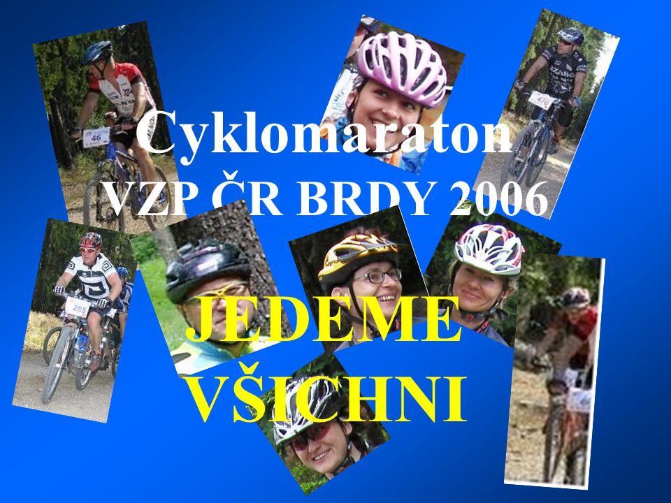 Cyklomaraton VZP ČR BRDY 2006 JEDEME VŠICHNI