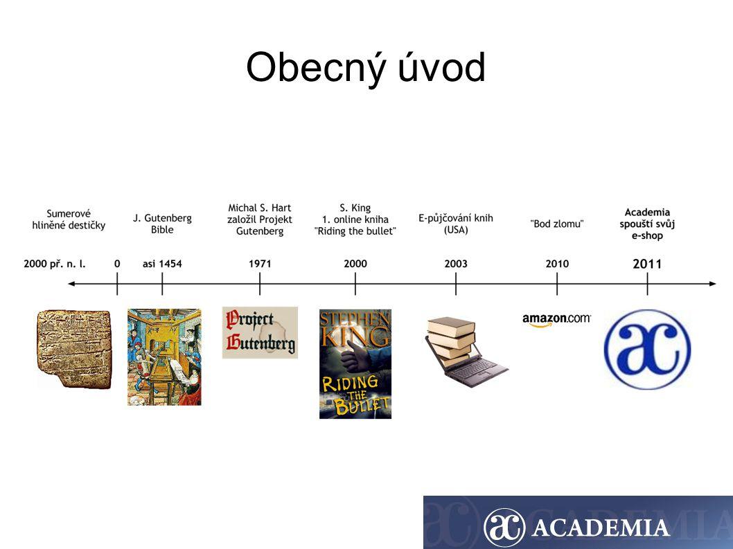 Počátek e-knih v Nakl.Academia - 2. pol.
