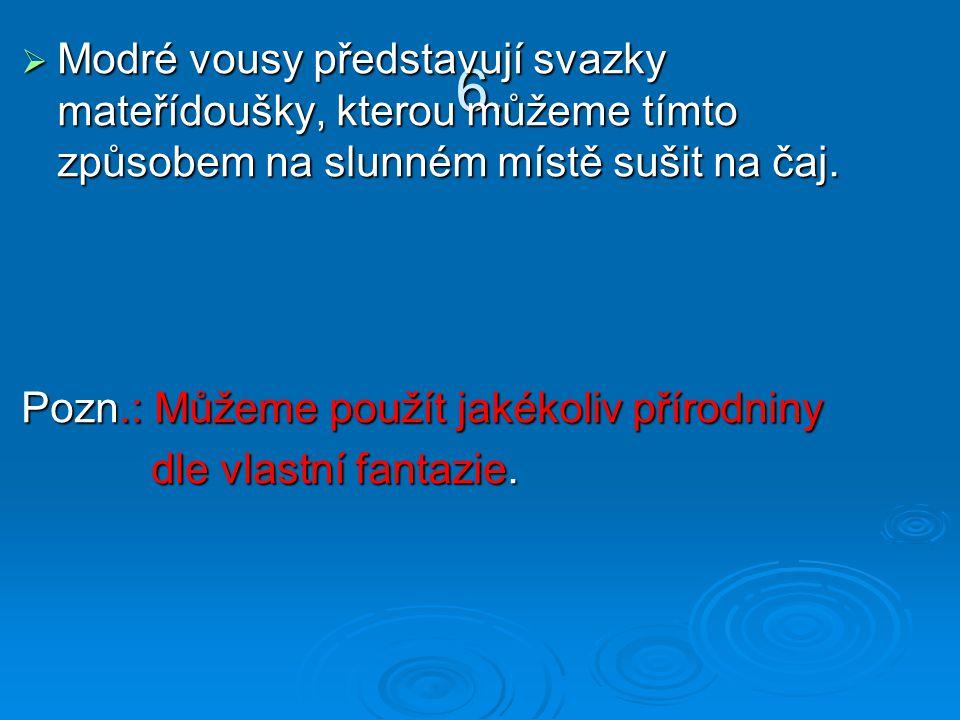 Práce naších žáků: