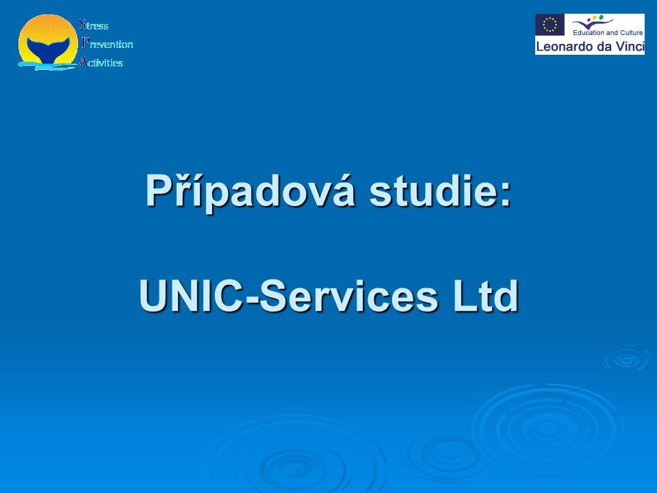 Firma UNIC-Services  Založena roku 1993 IT pracovníkem, jménem Saara Remes-Ulkunniemi  Firma nabízí vzdělávací služby po celém Finsku  Má 16 zaměstnanců a 4 další, kteří pracují dle potřeb firmy