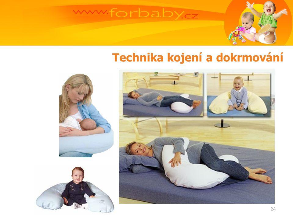 Technika kojení a dokrmování 24