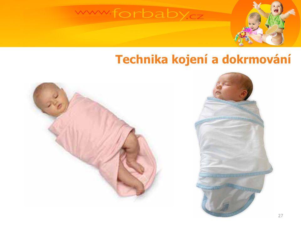 Technika kojení a dokrmování 27