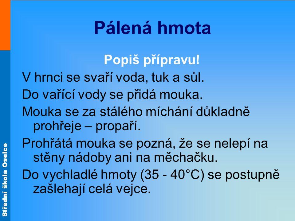 Střední škola Oselce Pálená hmota Příprava Obr.5