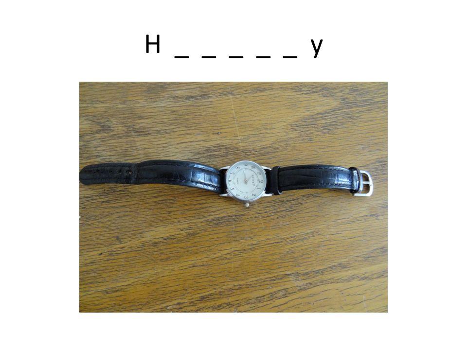 H _ _ _ _ _ y