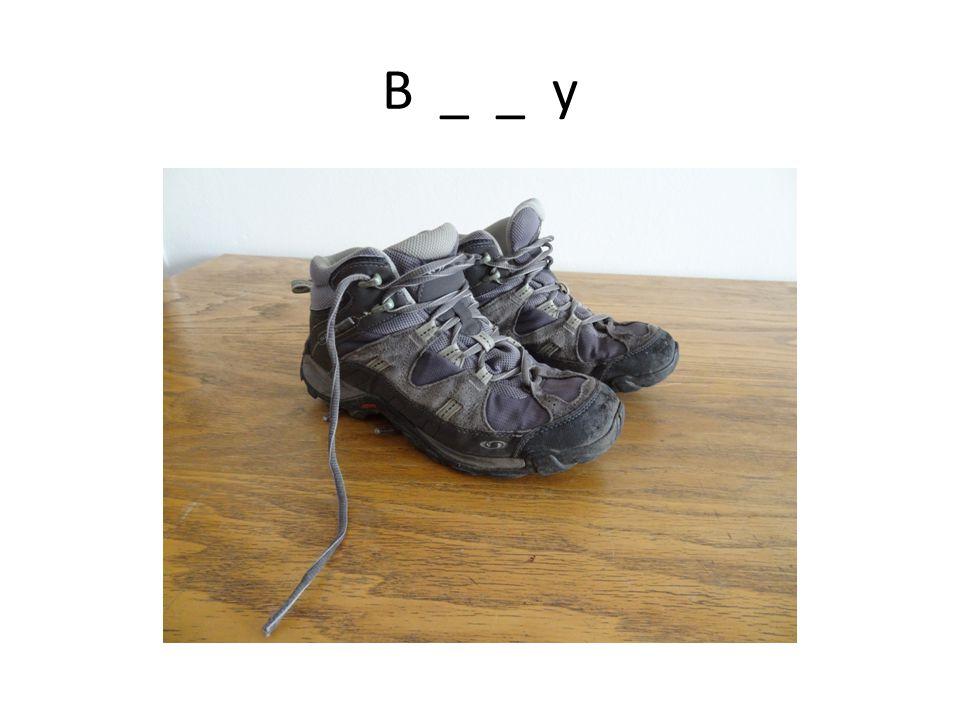 B _ _ y