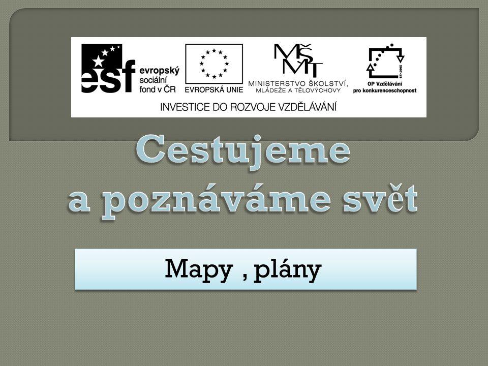 Mapy, plány Mapy, plány