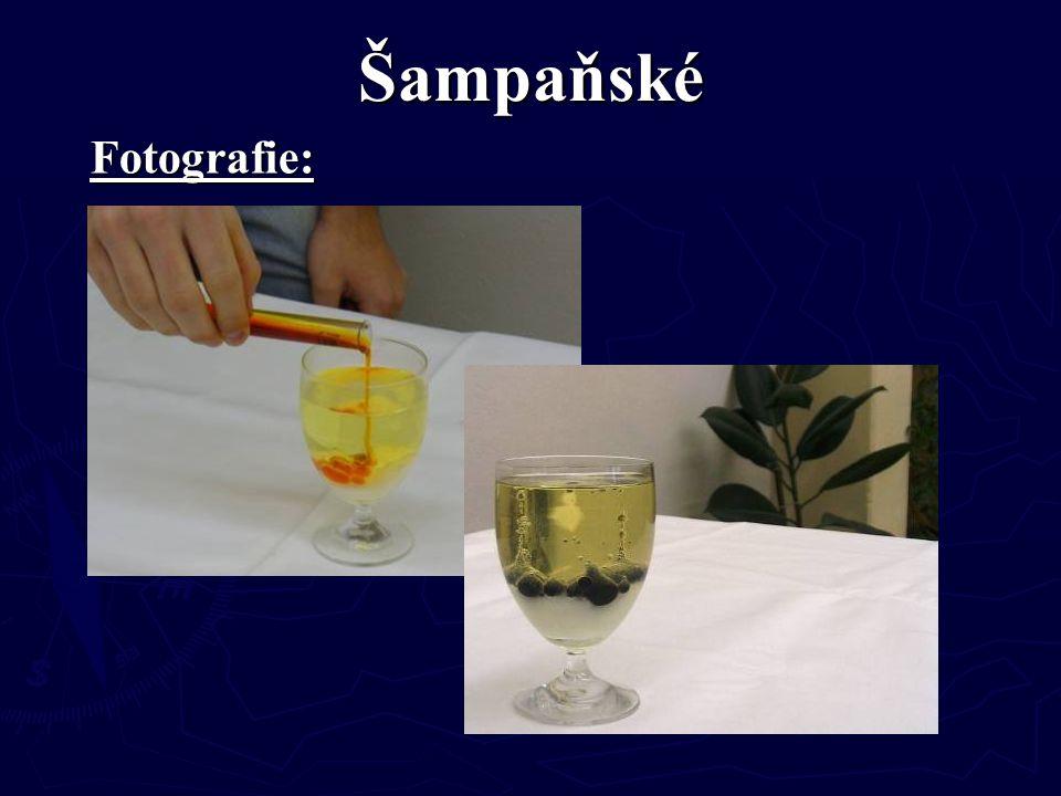 Šampaňské Fotografie: