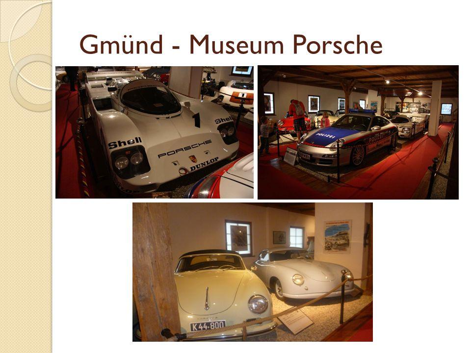 Gmünd - Museum Porsche