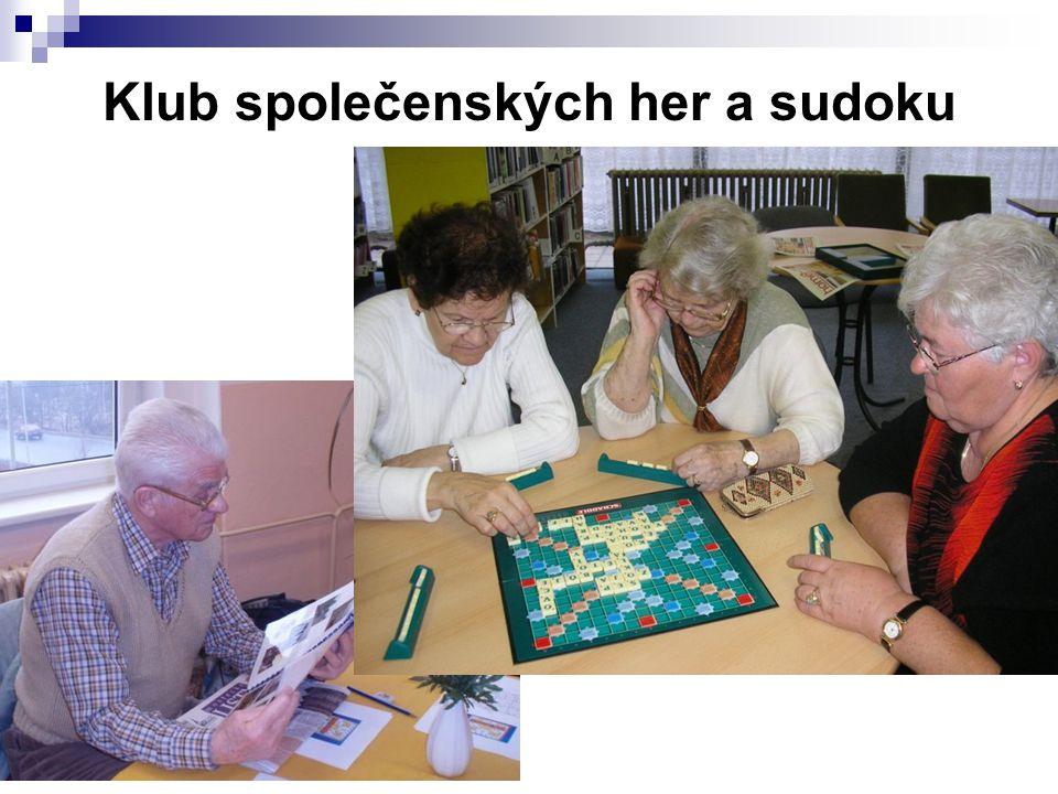 Knihovny a senioři - Vsetín 15. - 16. 4. 2009 Klub společenských her a sudoku
