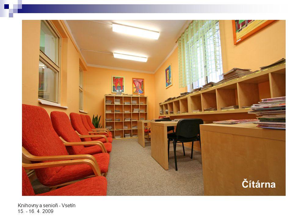 Knihovny a senioři - Vsetín 15. - 16. 4. 2009 Rozloučení s rokem 2006