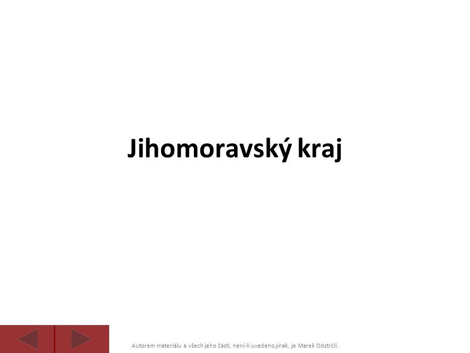 Autorem materiálu a všech jeho částí, není-li uvedeno jinak, je Marek Odstrčil. Jihomoravský kraj