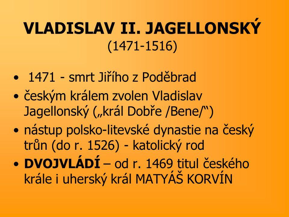 Vladislav Jagellonský Pečeť Vladislava II. Jagellonského