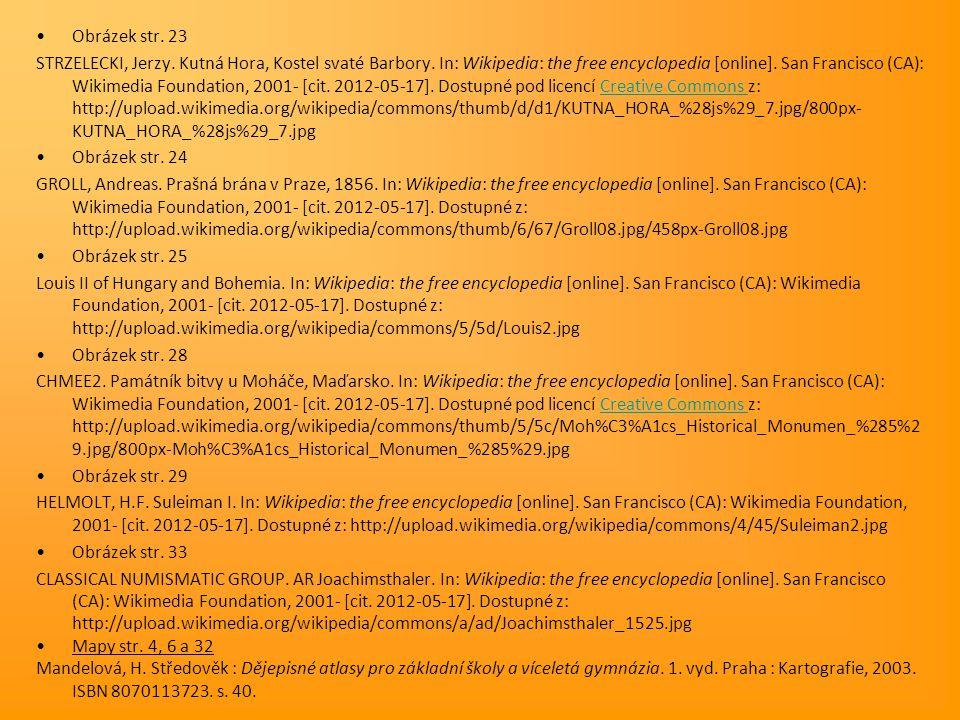 Obrázek str. 23 STRZELECKI, Jerzy. Kutná Hora, Kostel svaté Barbory. In: Wikipedia: the free encyclopedia [online]. San Francisco (CA): Wikimedia Foun