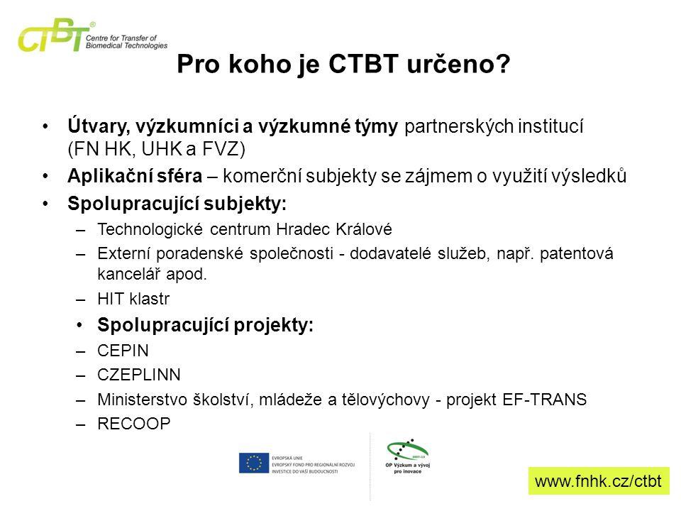 Pro koho je CTBT určeno.