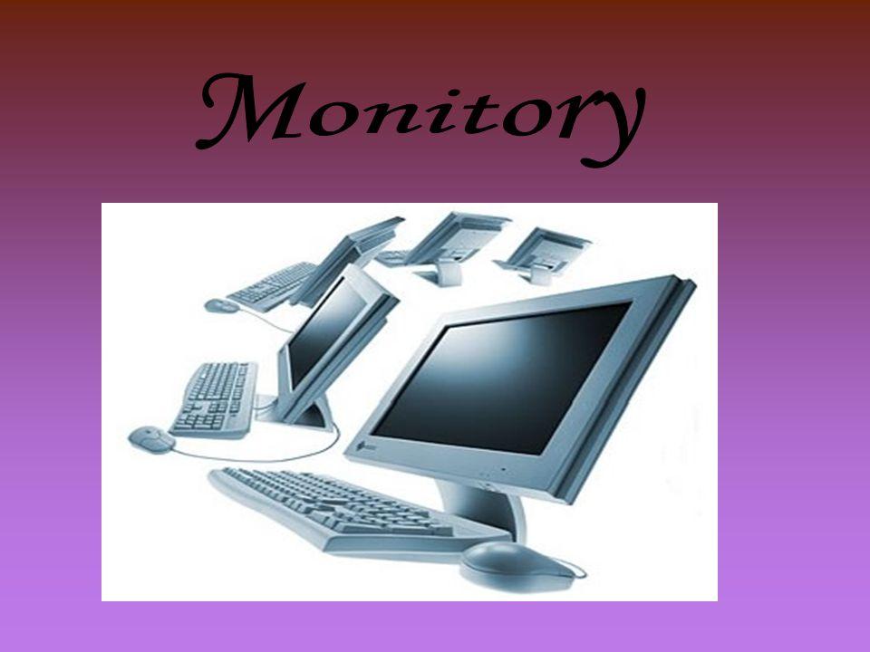 Definice monitoru Monitory jsou základní výstupní zařízení počítače.