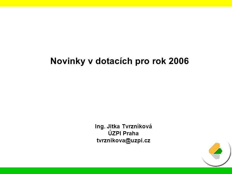 Národní doplňkové platby pro rok 2006 tzv.