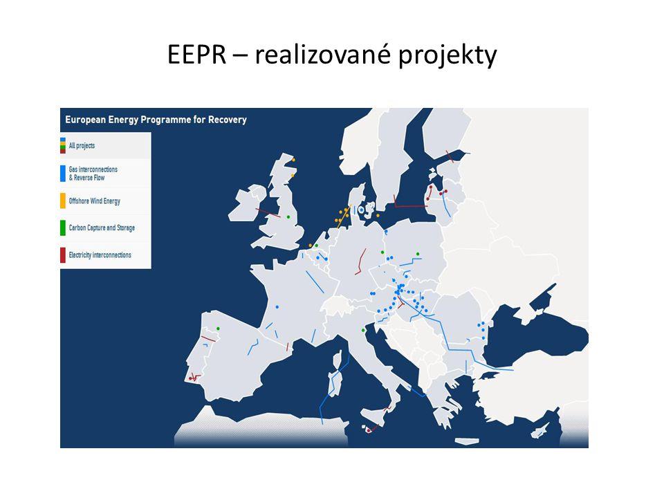 EEPR – realizované projekty