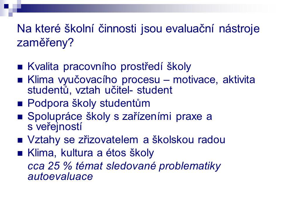 Metodika vlastního hodnocení školy I.(ve smyslu ustanovení § 8 odst.