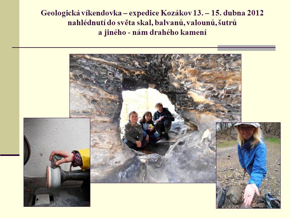 Geologická víkendovka – expedice Kozákov 13. – 15.